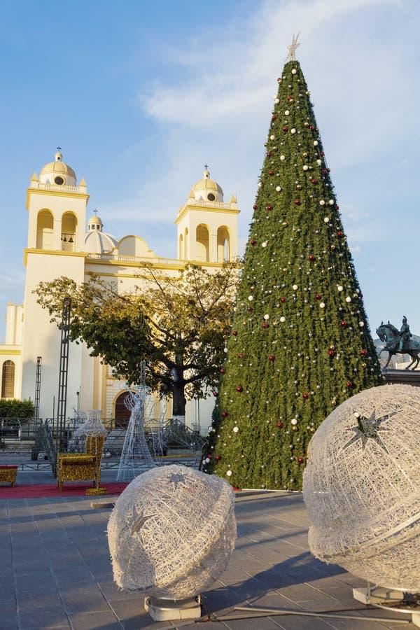 San Salvador Cathedral stock afbeeldingen