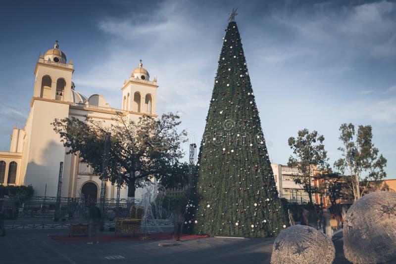 San Salvador Cathedral foto de stock