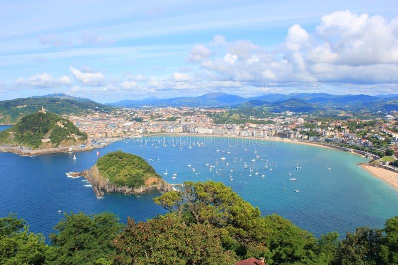 San Sebastián foto de archivo