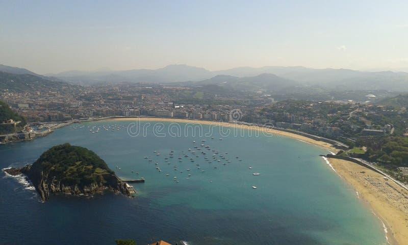 San Sebastian fotografia stock libera da diritti