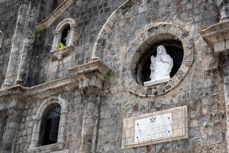 San Sebastian Cathedral in Bacolod. Philippines royalty free stock images