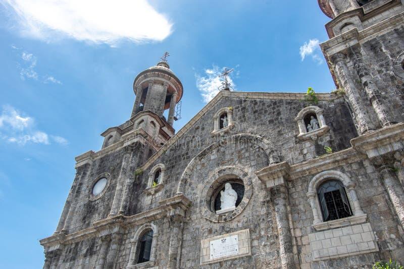 San Sebastian Cathedral em Bacolod imagem de stock