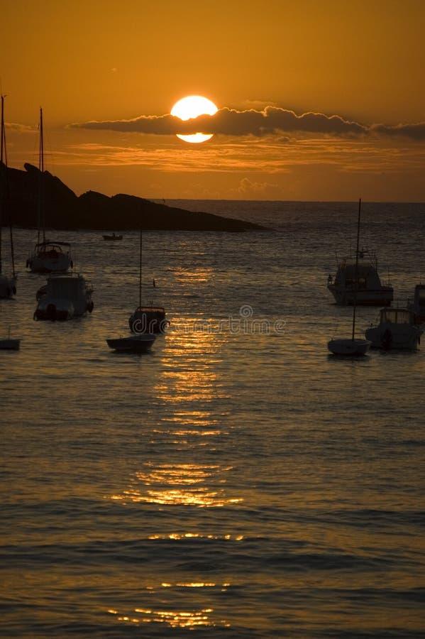 Download San Sebastian - Concha Bay Royalty Free Stock Images - Image: 1150129