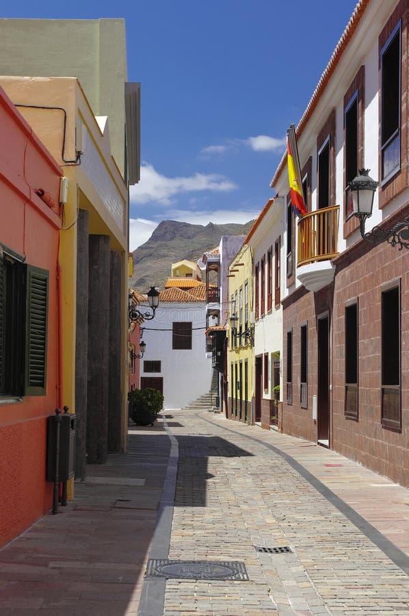 SAN SEBASTIAN DE LA GOMERA; Canary island, Spain stock photo