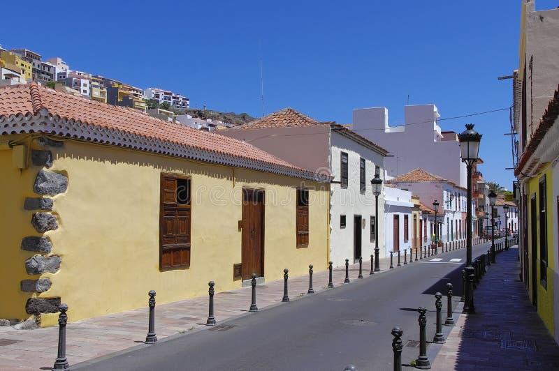 SAN SEBASTIAN DE LA GOMERA, Canary island, Spain stock image