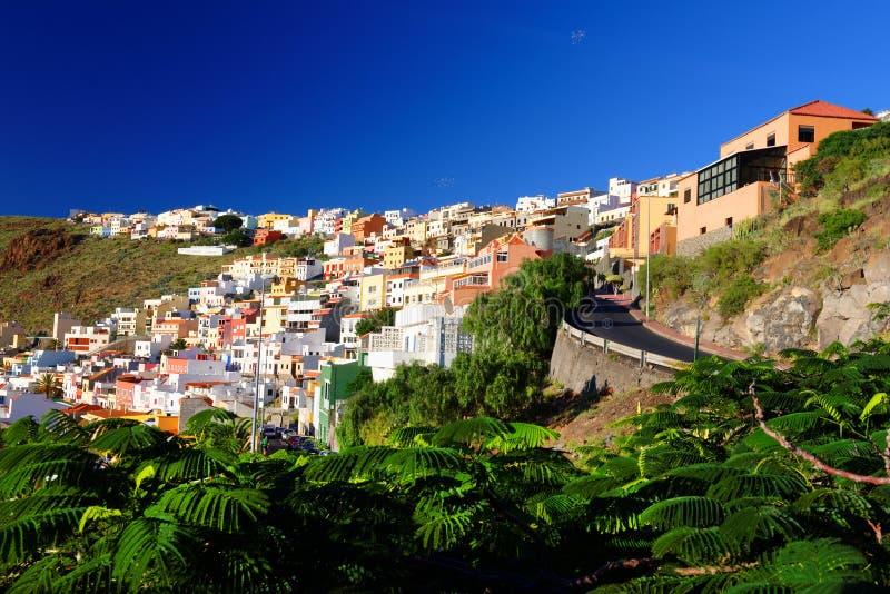 San Sebastian de la Gomera. Canary Islands, Spain royalty free stock images