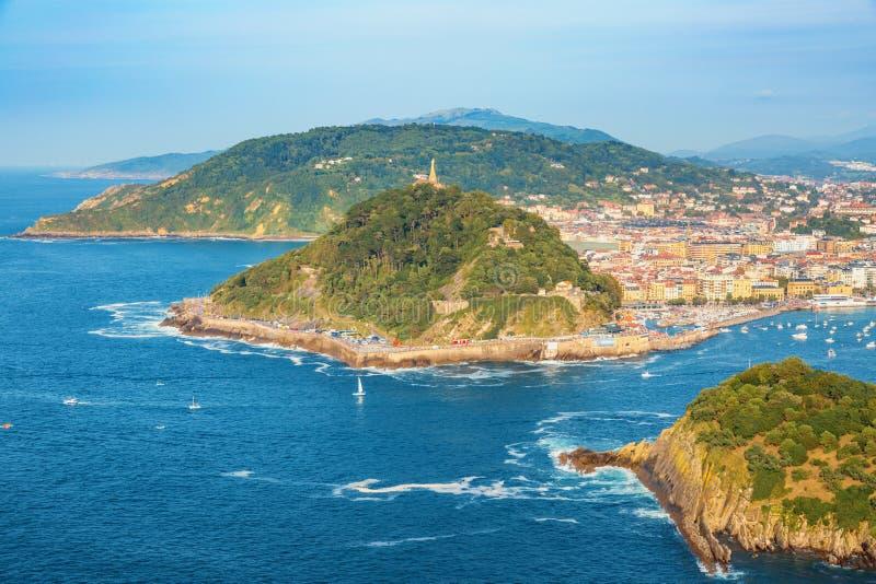 San Sebastian Euskadi, Баскония, Испания стоковое изображение