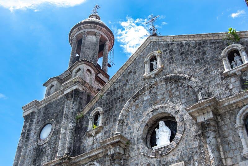 San Sebastian katedra w Bacolod obrazy stock