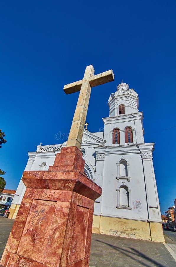 San Sebastian krzyż obrazy royalty free