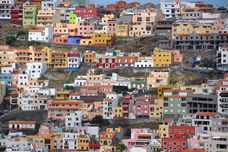 San Sebastian - la Gomera imagenes de archivo