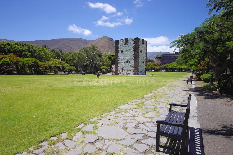 San Sebastian, La Gomera, Canary Islands, Spain stock image