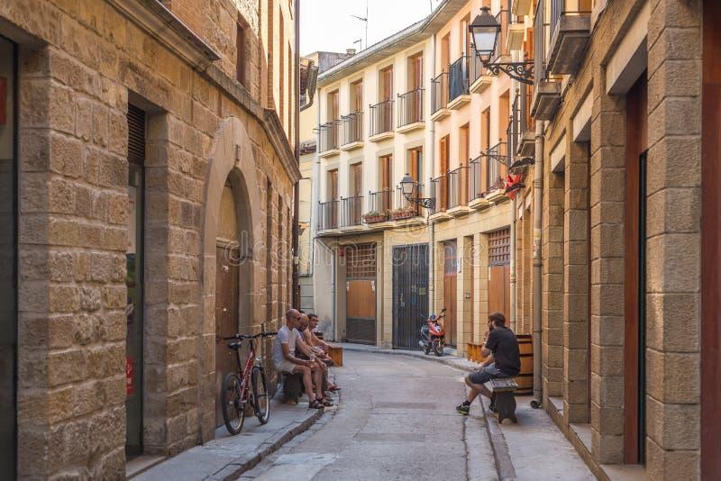 San Sebastian na Espanha foto de stock