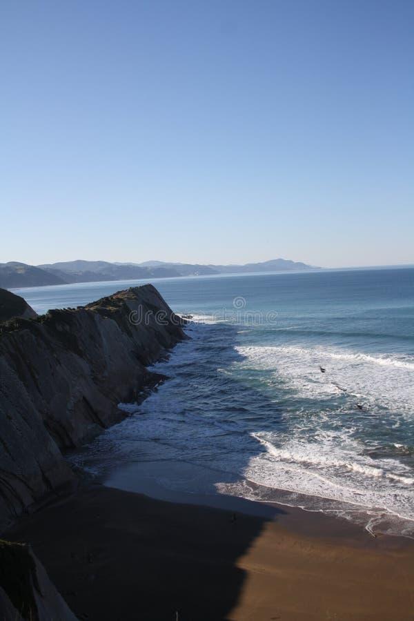 San Sebastian Sea lizenzfreie stockfotos