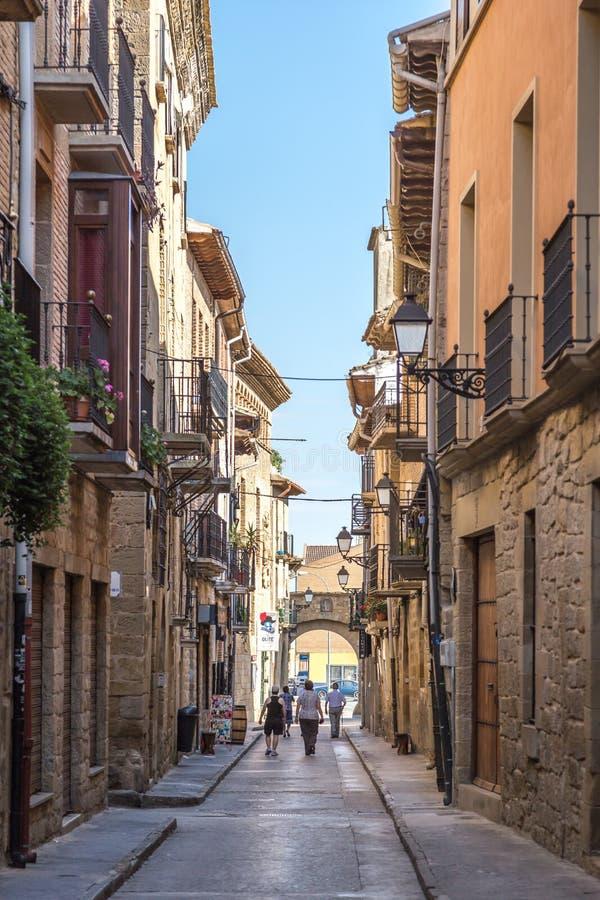 San Sebastian in Spagna fotografia stock libera da diritti