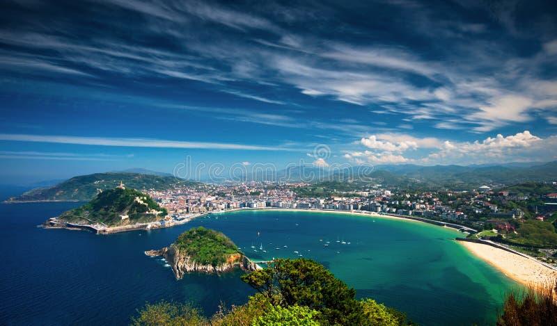 San Sebastian, Spain foto de stock