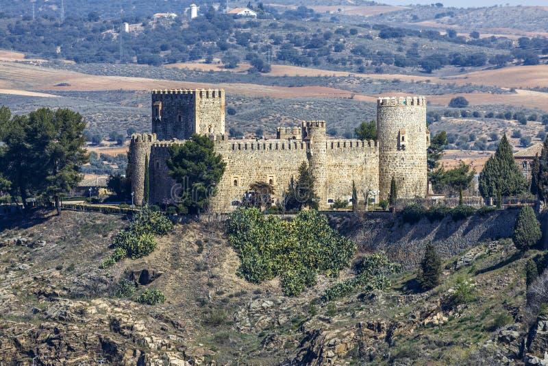San Servando Castle à Toledo, Espagne images libres de droits