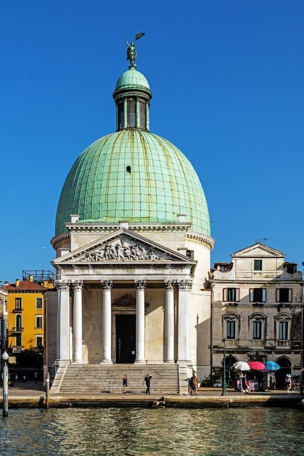 San Simeone Piccolo Church images stock