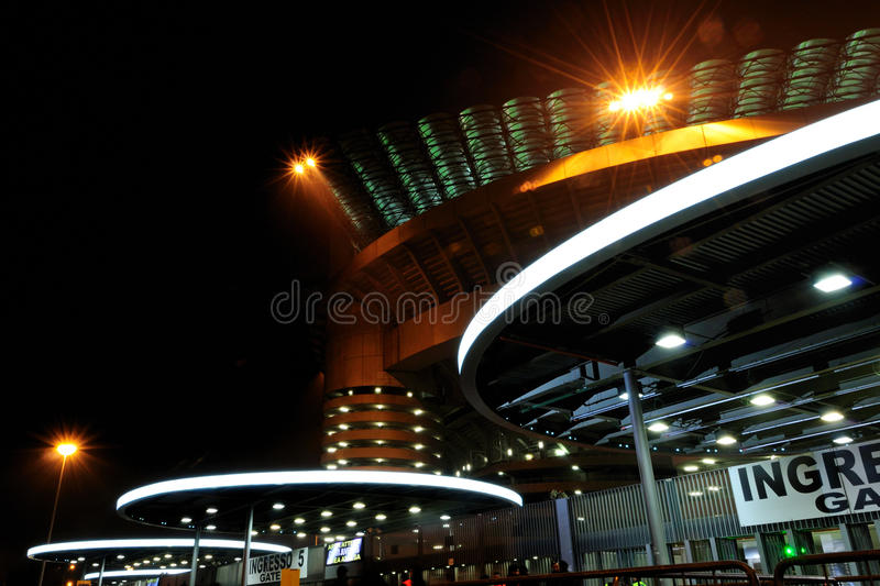 Download San Siro Football Stadium In Milan, Italy Stock Photo - Image: 22223804