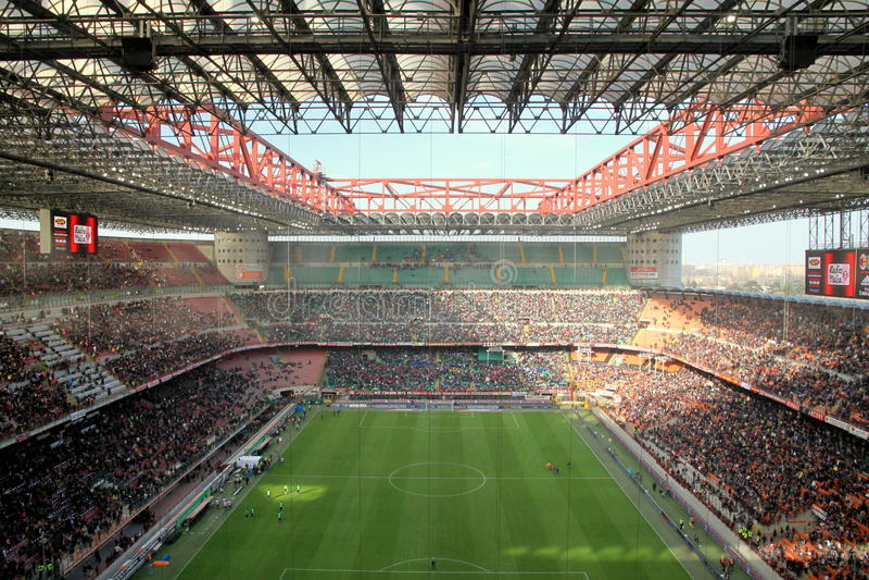 san siro stadium fotografia royalty free