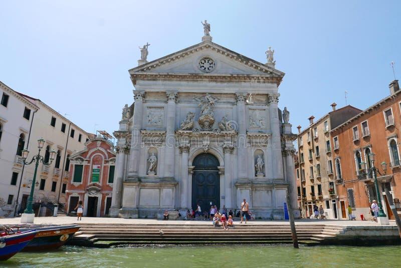 San Stae, Venezia, Italien stockfotos