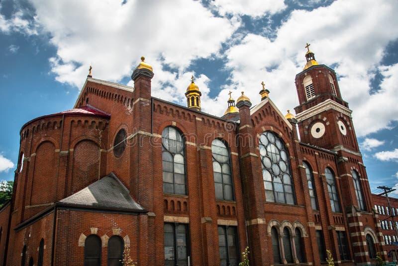 San Stanislaus Kostka Church - Pittsburgh, PA fotografia stock libera da diritti