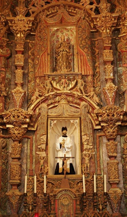 San storico Xavier del Bac Mission immagini stock