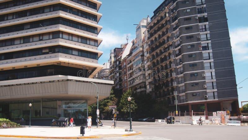 San svalafyrkant i Buenos Aires royaltyfria bilder