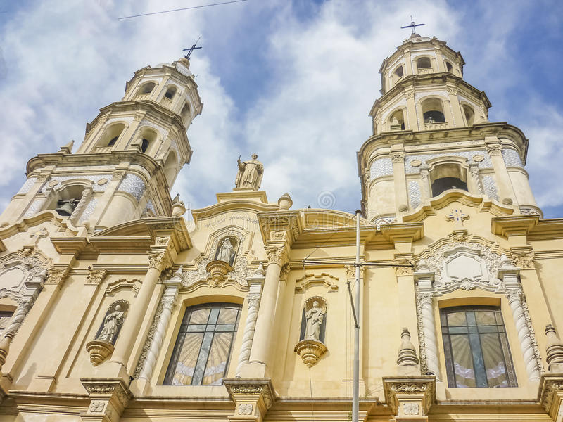 San Telmo Church à Buenos Aires photo libre de droits