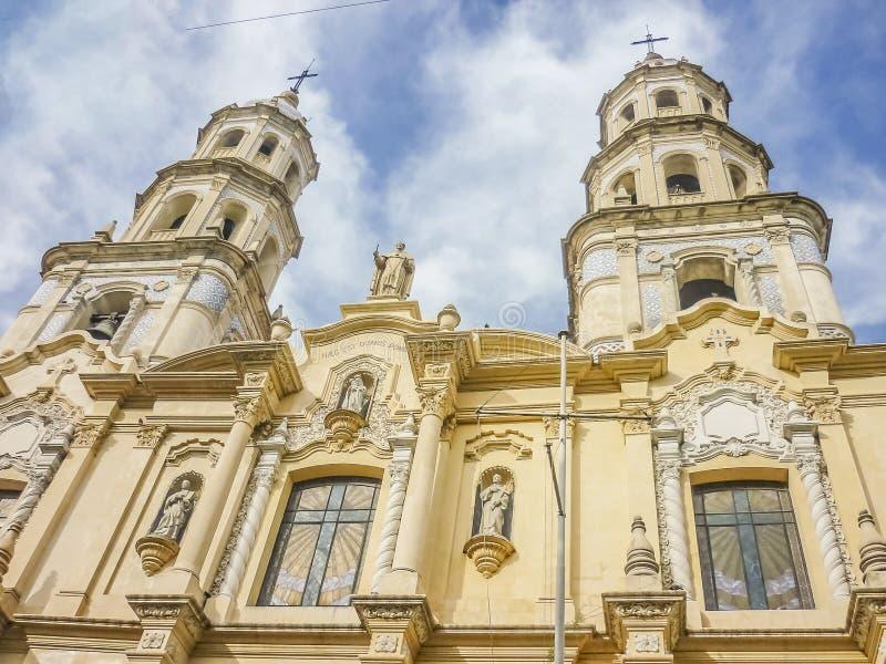 San Telmo Church em Buenos Aires foto de stock royalty free