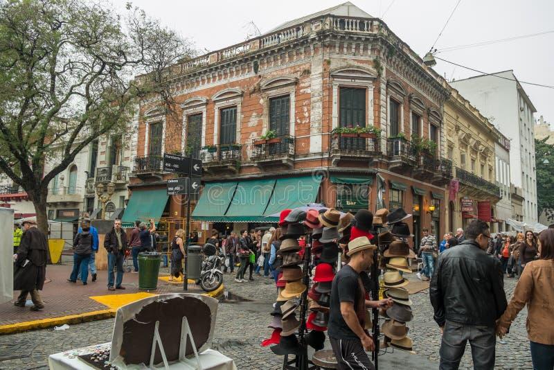 San Telmo Market, Buenos Aires fotos de stock