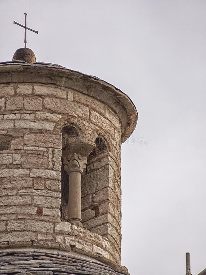 San Tomè, Almenno San Bartolomeo, Bergamo, Italië royalty-vrije stock afbeelding