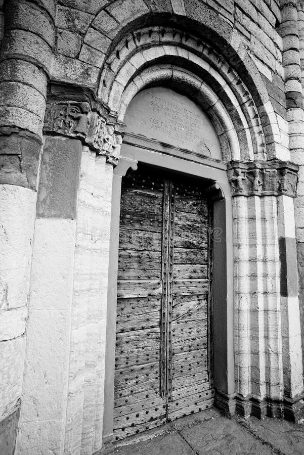 San Tomè, - Almenno San Bartolomeo zdjęcie royalty free
