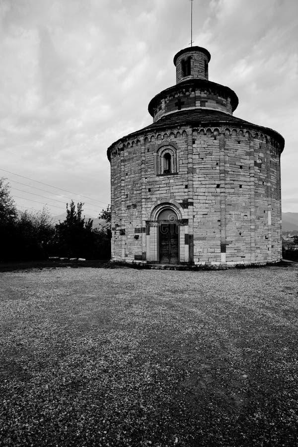 San Tomè, - Almenno San Bartolomeo obraz royalty free