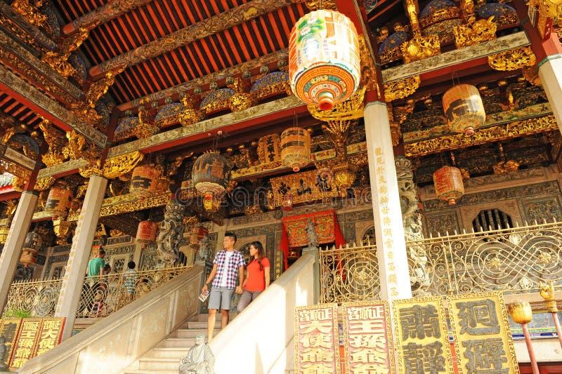 San Tong Khoo Kongsi arkivbild