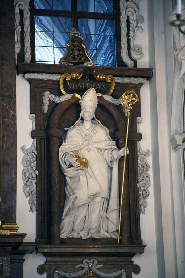 San Ulrich di Augusta immagini stock