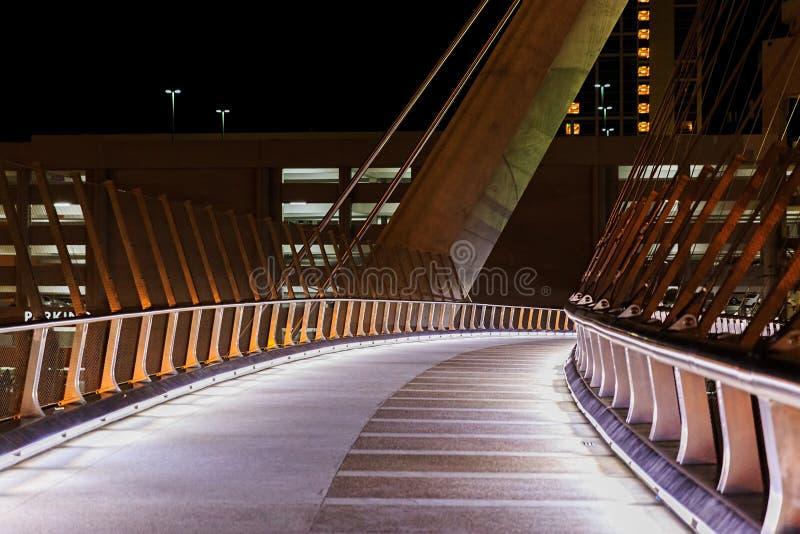 San van de binnenstad Diego Bridge royalty-vrije stock afbeelding
