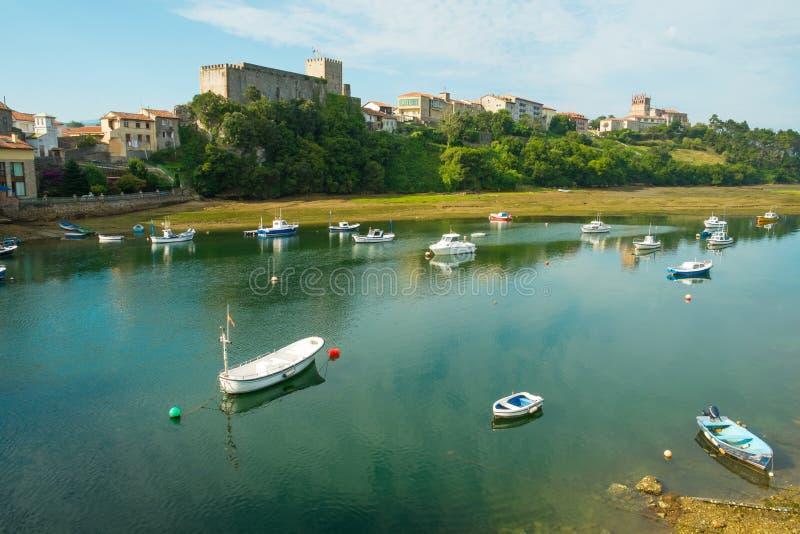 San Vicente de la Barquera imágenes de archivo libres de regalías