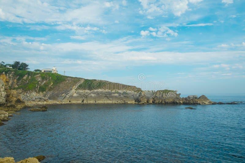 San Vicente de la Barquera lizenzfreies stockbild
