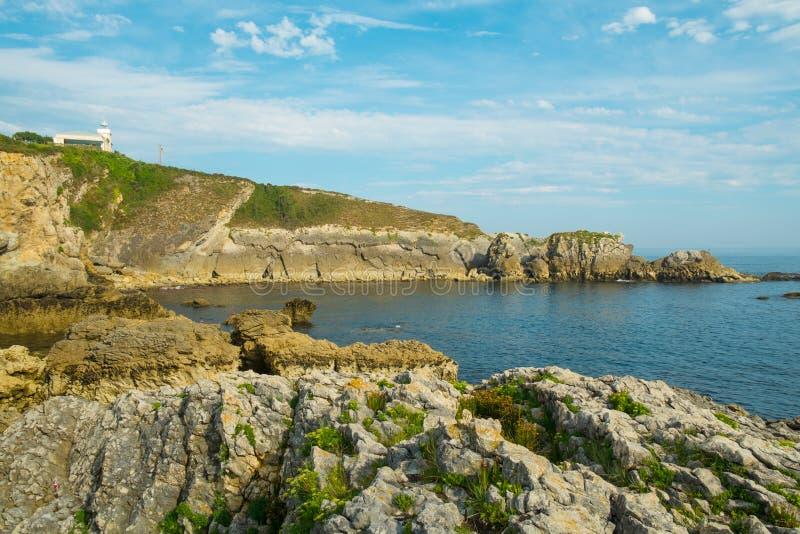 San Vicente de la Barquera fotografía de archivo
