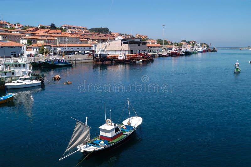 San Vicente de la Barquera; Cantabria; fotografía de archivo