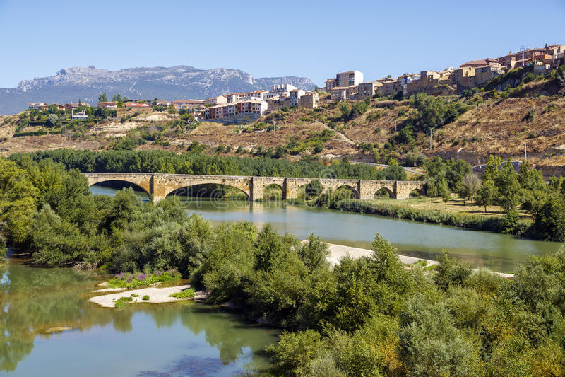San Vicente de la Sonsierra, La Rioja fotos de archivo