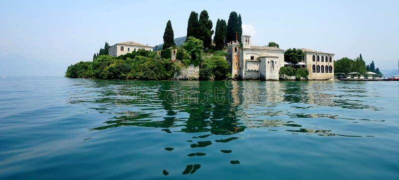 San Vigilio jezioro Garda fotografia stock