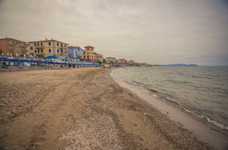 San Vincenzo Beach #3 stock foto's