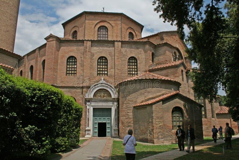 San-vitale Kirche stockfotografie