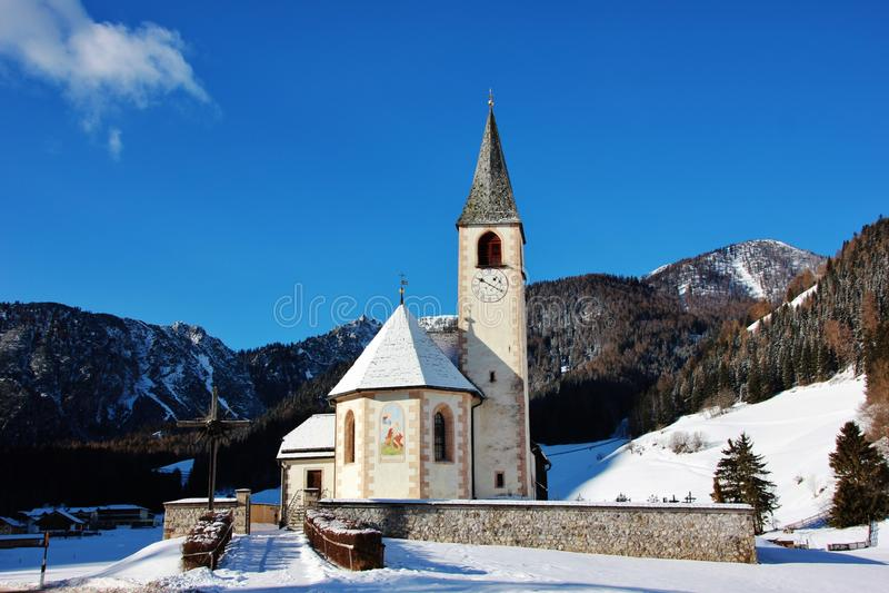 San Vito Church in Italien stockfotografie
