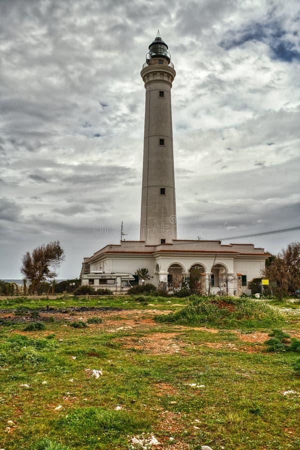 San Vito Lo Capo Lighthouse stock foto's