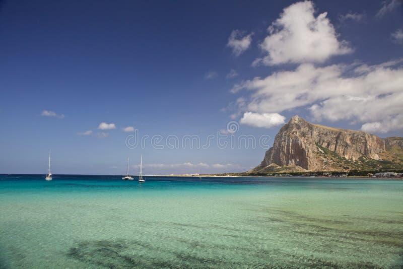 San Vito lo Capo, Sicilië stock foto