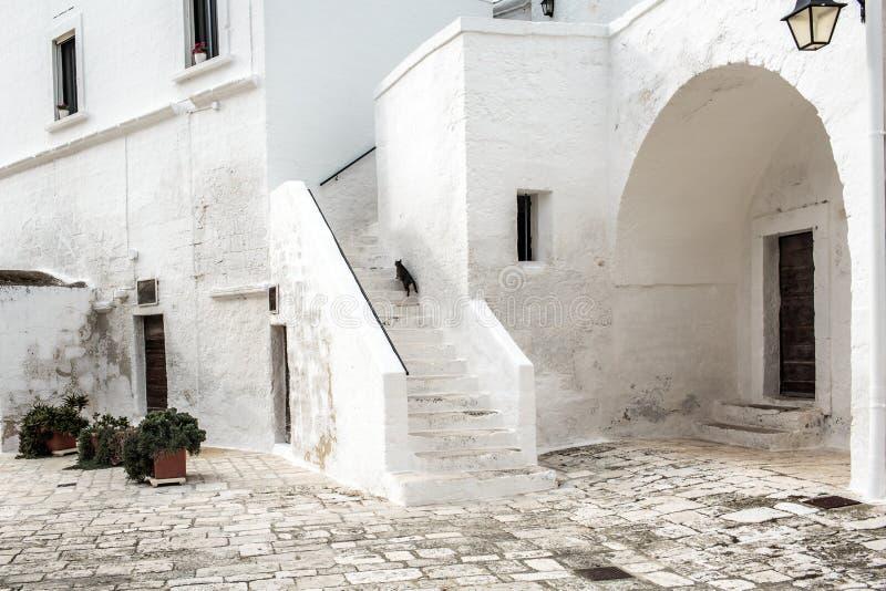 San Vito opactwo, Puglia fotografia stock