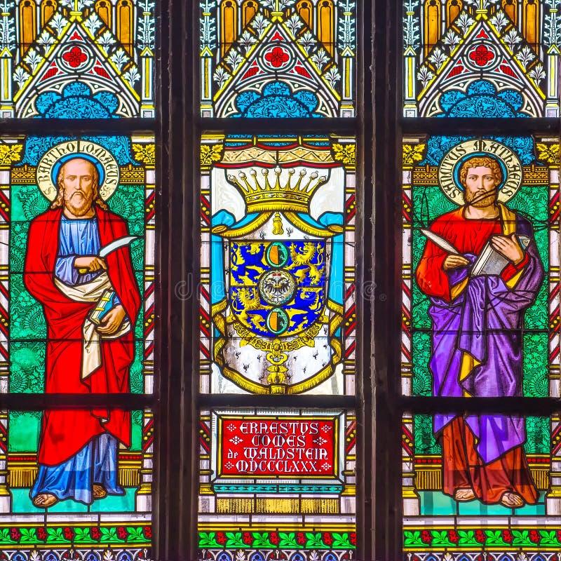 Download San Vitus Religious Vitrage Windows Di Praga Fotografia Editoriale - Immagine di macchiato, cattolico: 55364621