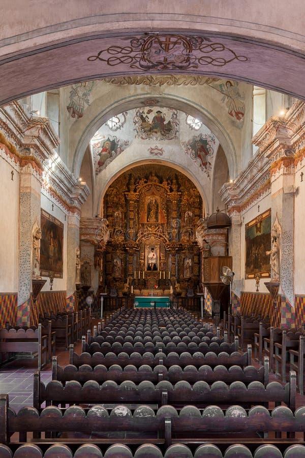 San Xavier del Bac royalty-vrije stock foto's